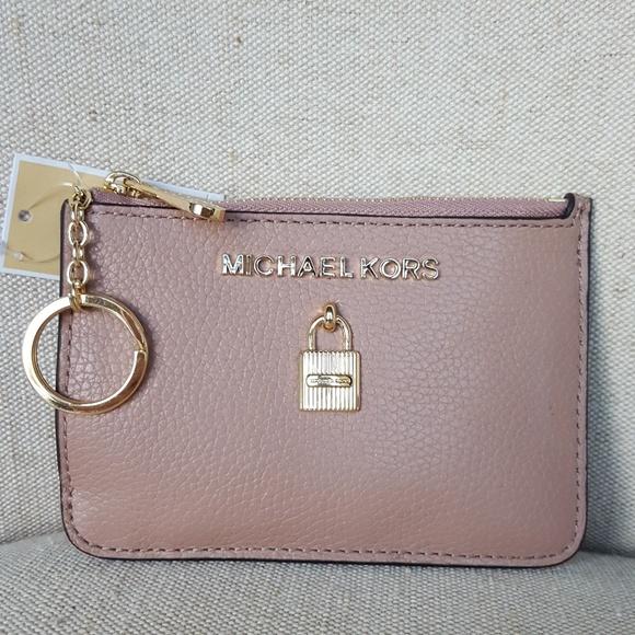 729232f7a4080a MICHAEL Michael Kors Bags | Nwt Michael Kors Sm Adele Coin Pouch ...